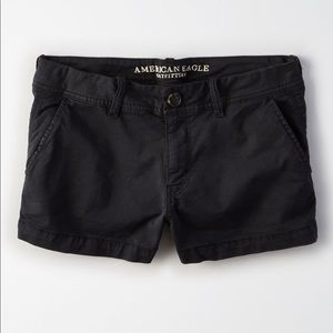 black shorts from AMERICAN EAGLE